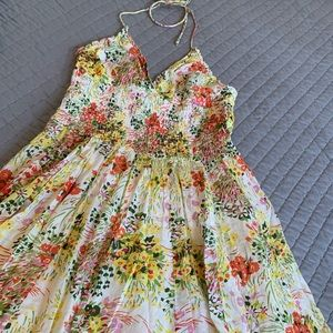 Wild flower sundress